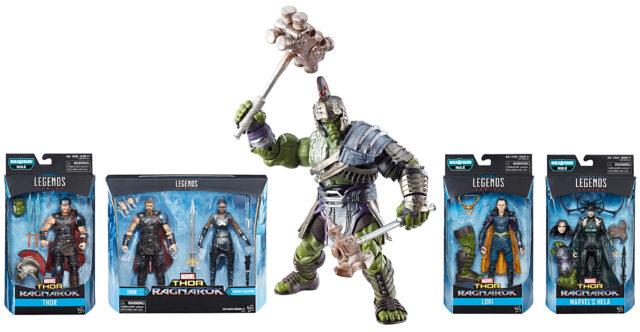Marvel Legends Thor Ragnarok Series Figures
