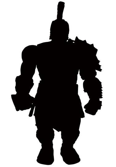 Marvel Select Gladiator Hulk Figure Silhouette