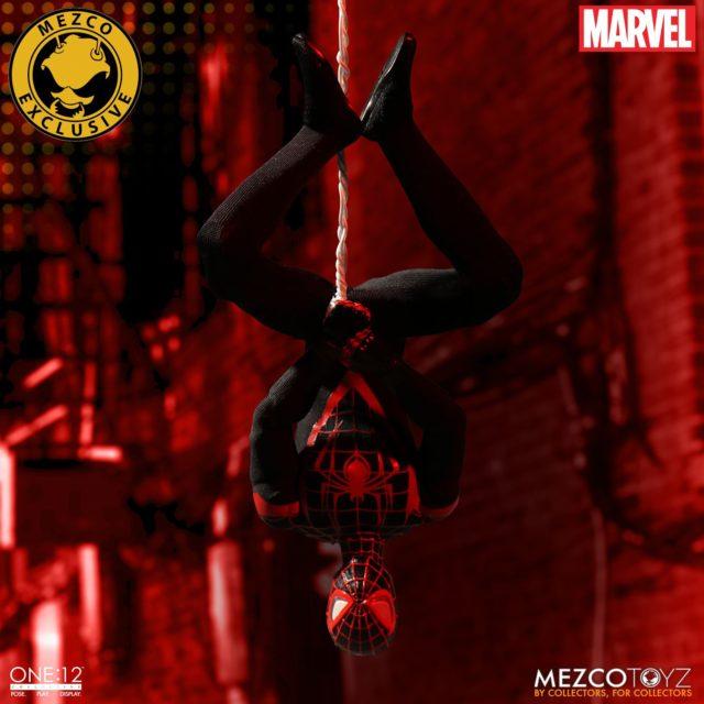 Mezco Miles Morales Spider-Man ONE 12 Collective Figure Exclusive