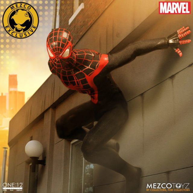 Mezco ONE 12 Collective Miles Morales SDCC Exclusive Figure