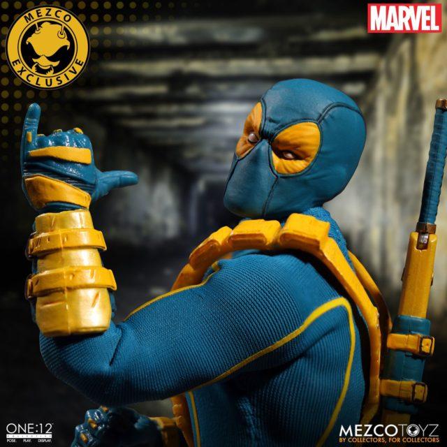 San Diego Comic Con 2017 Exclusive Mezco ONE 12 Collective X-Men Deadpool
