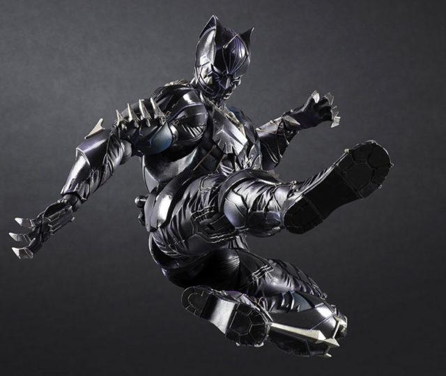 Square-Enix Black Panther Play Arts Kai Action Figure