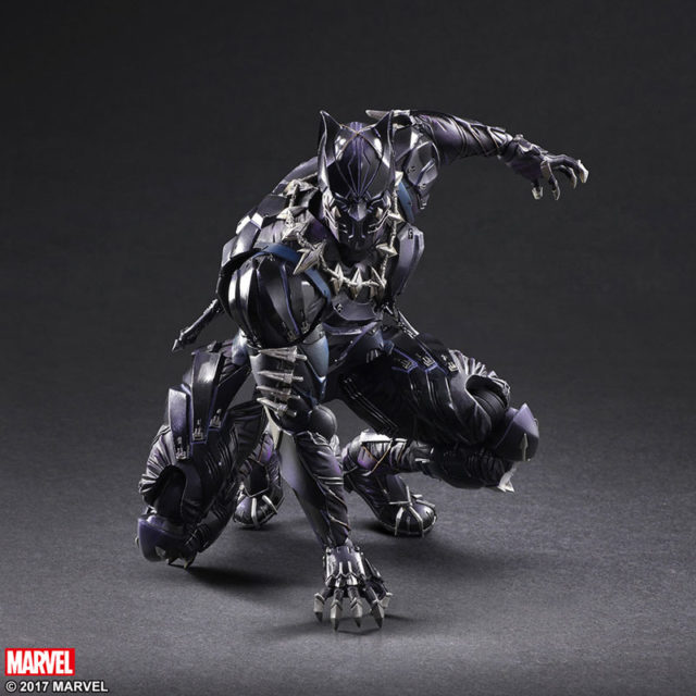 Square-Enix Play Arts Kai Black Panther Figure