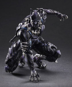 Square-Enix Play Arts Kai Black Panther Figure