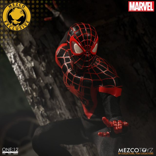 Summer Exclusive 2017 Miles Morales Mezco ONE 12 Collective Spider-Man
