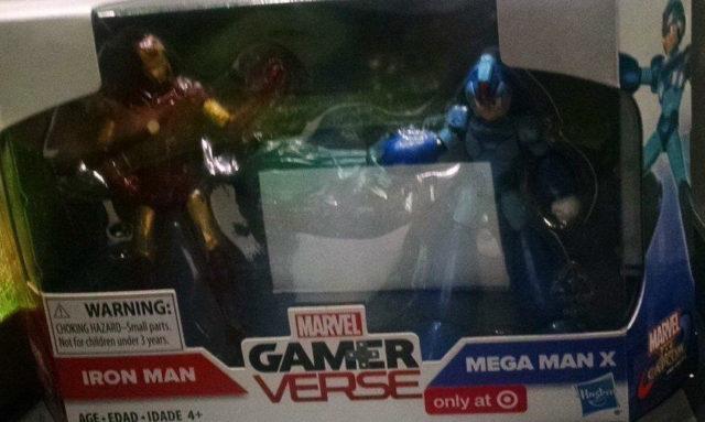 Target Exclusive Marvel vs Capcom Infinite Figures Set