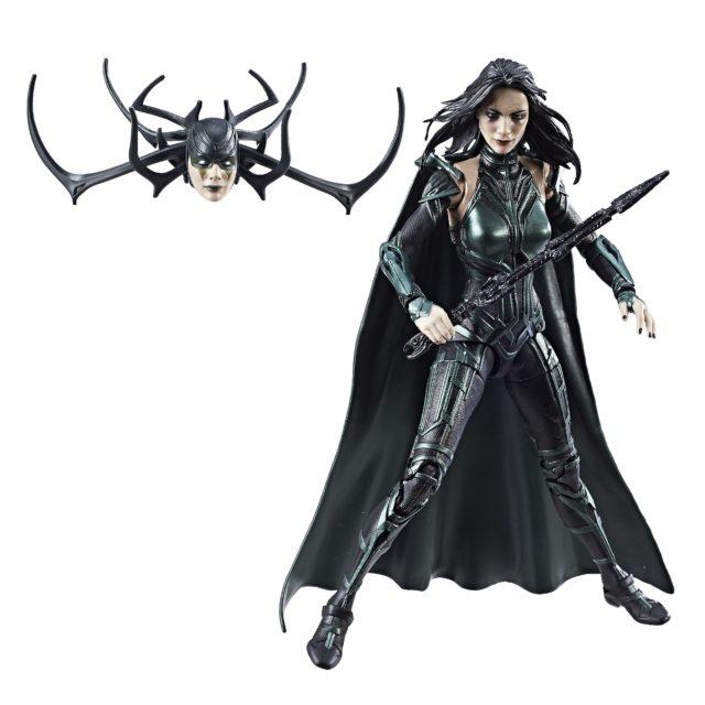 Thor Ragnarok Hela Marvel Legends Figure Unmasked Head