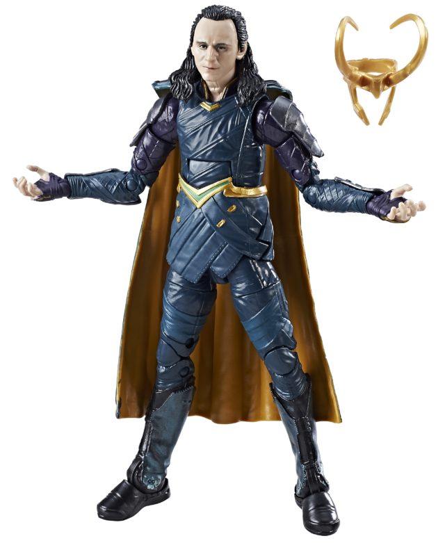 Thor Ragnarok Marvel Legends Loki with Helmet Off