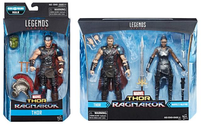 Thor Ragnarok Marvel Legends Valkyrie and Gladiator Thor
