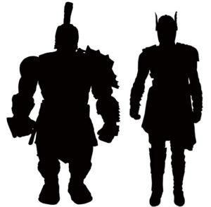 Thor Ragnarok Marvel Select Figures Silhouettes Teaser