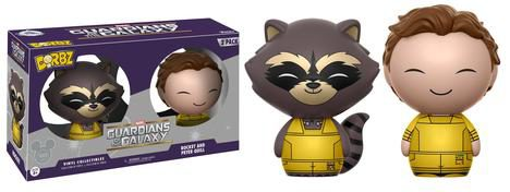 2017 D23 Funko Dorbz Rocket Raccoon and Star-Lord Figures Two-Pack Exclusive