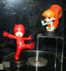 2017 SDCC Gentle Giant Skottie Young Daredevil Squirrel Girl Marvel Animated Babies Statues