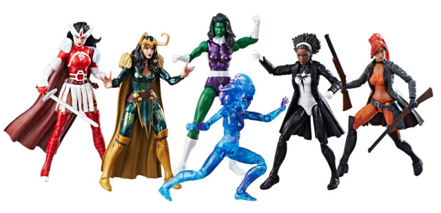 2017 San Diego Comic Con Exclusive Marvel Legends A-Force Figures