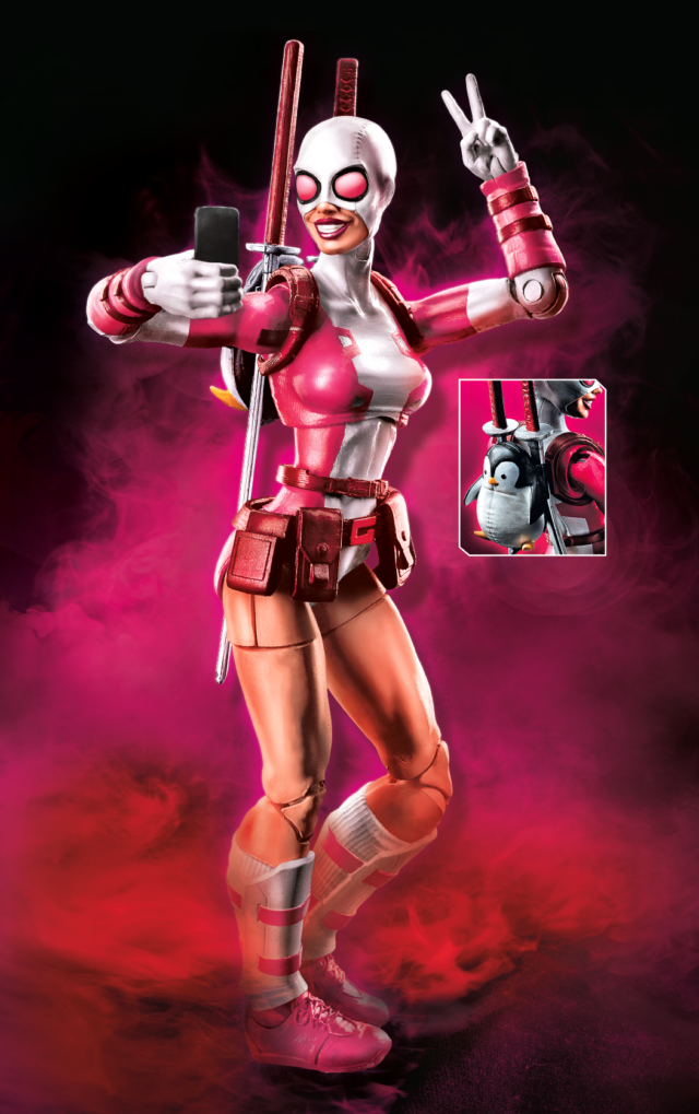 2018 Marvel Legends Gwenpool Figure