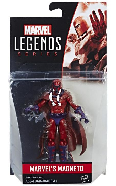 Age of Apocalypse Magneto Marvel Legends Figure Packaged