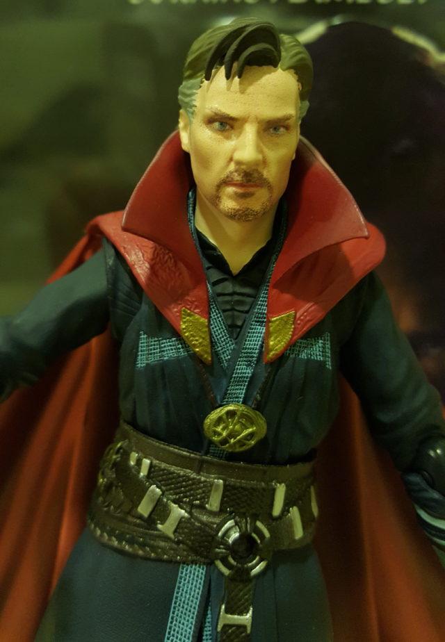 Close-Up of SH Figuarts Dr Strange Figure