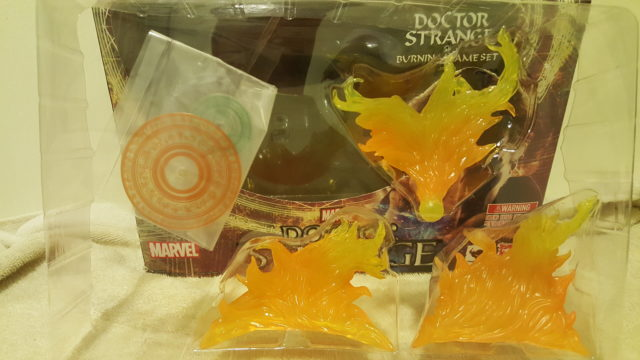 Figuarts Doctor Strange Flame Effects