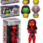 D23 Expo 2017 Funko Exclusives! GOTG Dorbz & Red She-Hulk!