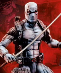 HasCon Exclusive X-Force Deadpool 6 Inch Figure