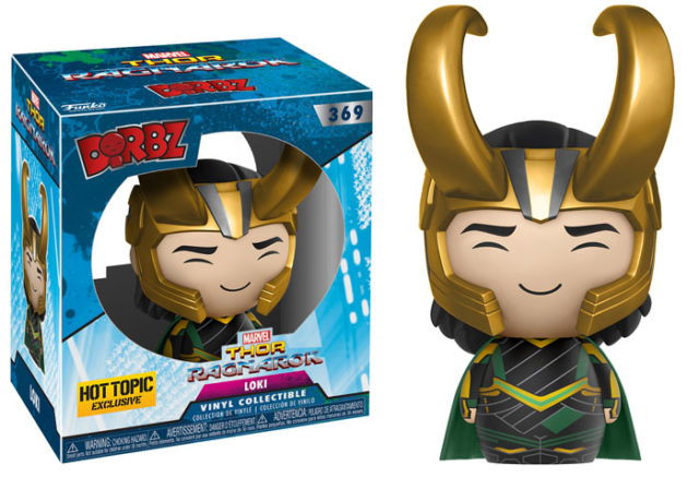 Hot Topic Exclusive Funko Loki Figure with Helmet