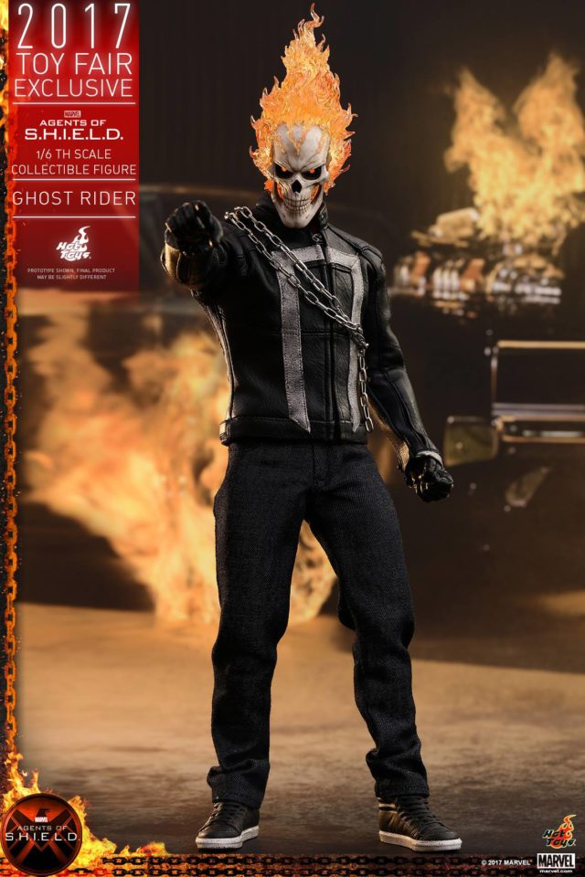 Hot Toys Exclusive Ghost Rider SHIELD Sixth Scale Figure
