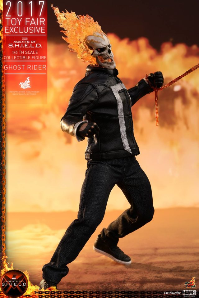 Hot Toys Ghost Rider Sixth Scale Figure Robbie Reyes