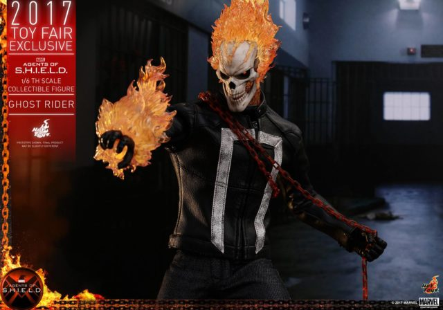 Hot Toys SHIELD Ghost Rider Figure Toy Fairs Exclusive 2017