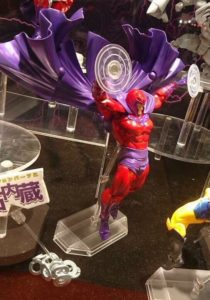 Revoltech Magneto Figure Articulated Cape Flying
