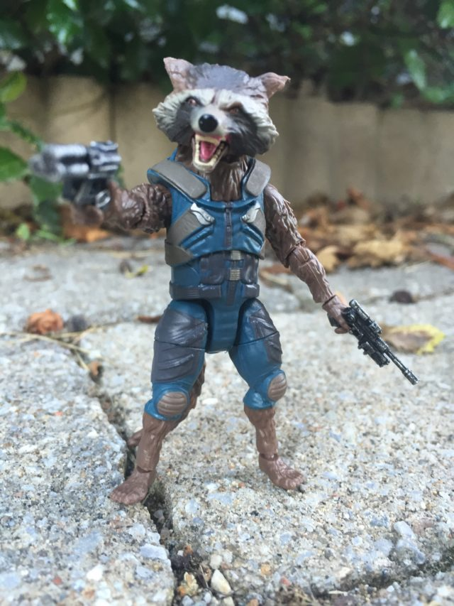 Rocket Raccoon Marvel Legends GOTG Vol. 2 Figure Review