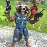 Marvel Legends Rocket Raccoon & Groot Review & Photos GOTG 2