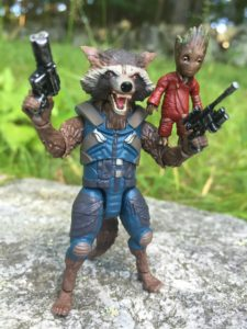 Marvel Legends Rocket Raccoon & Groot Review