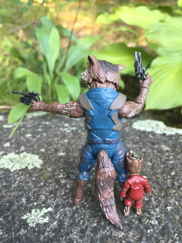 Marvel Legends Guardians of the Galaxy Vol. 2 Rocket Raccoon Figure Back