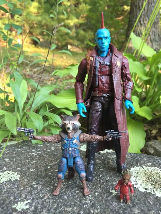 Guardians of the Galaxy Legends Yondu Rocket Raccoon Baby Groot