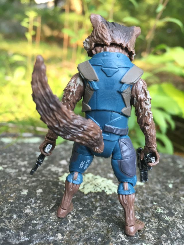 Articulated Tail on Marvel Legends Rocket Raccoon Figure