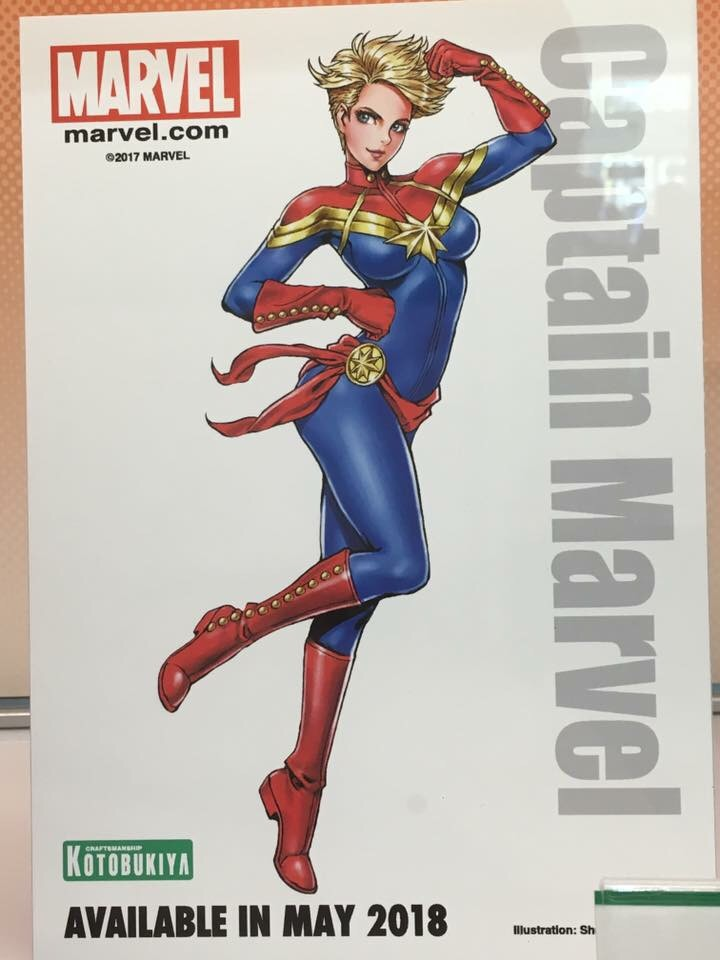 captain marvel bishoujo