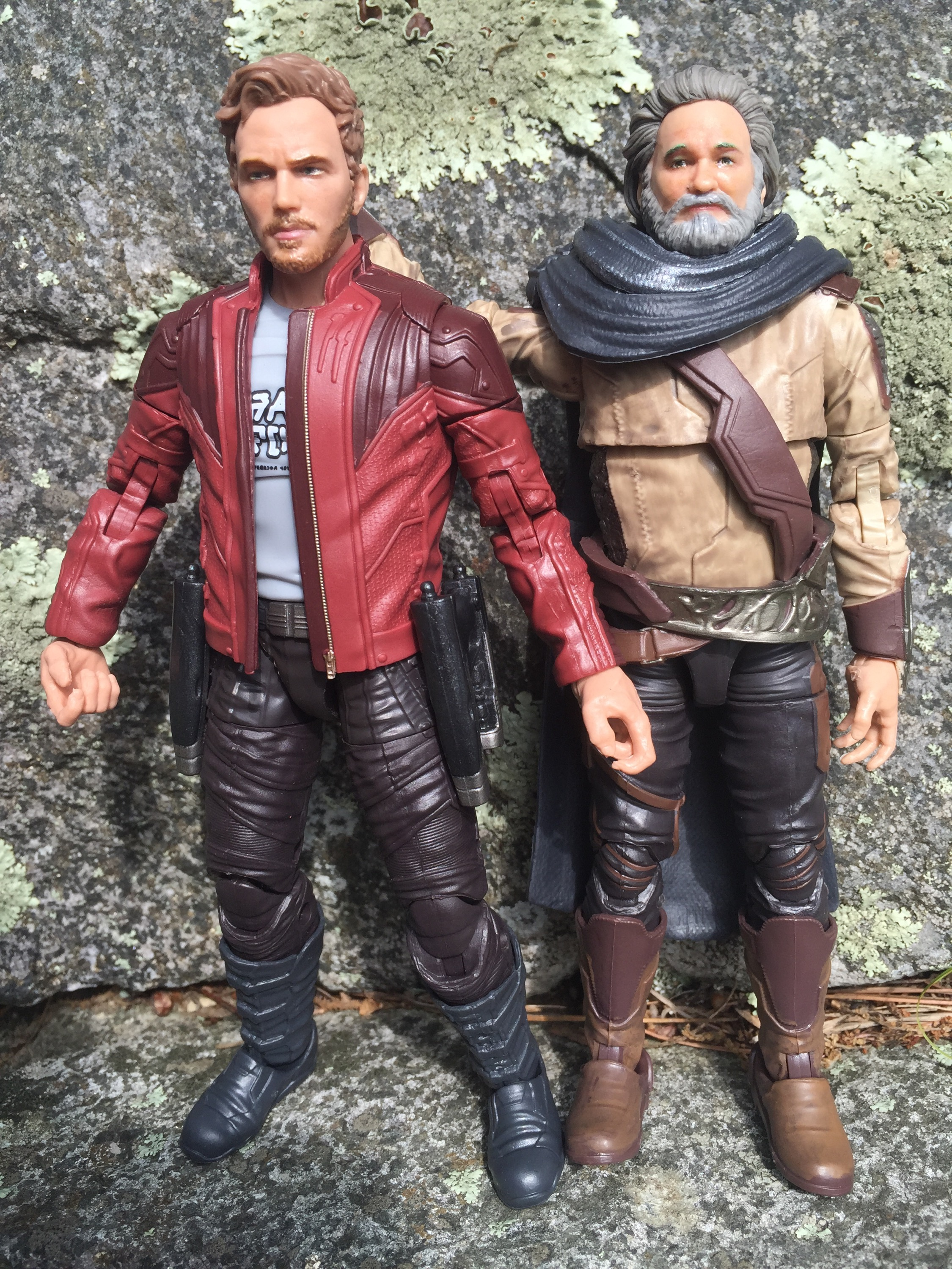 Star-Lord and Marvel/'s Ego Marvels Legends Series Guardians of the Galaxy Vol 2
