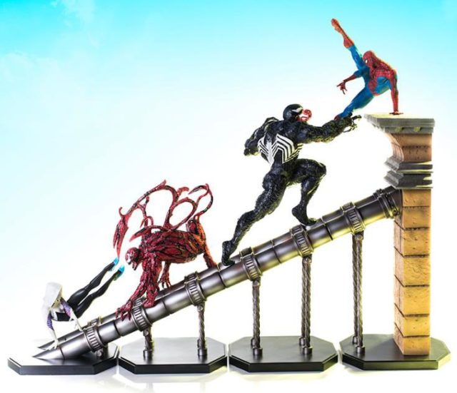 Iron Studios Spider-Man Battle Diorama Series Statues