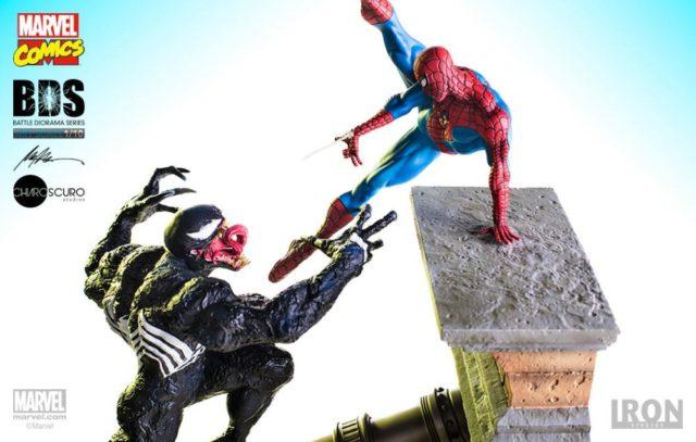Iron Studios Spider-Man vs. Venom Statues