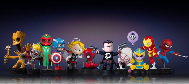 Marvel Animated Statues Gentle Giant Ltd Full Series Lineup with Spider-Man