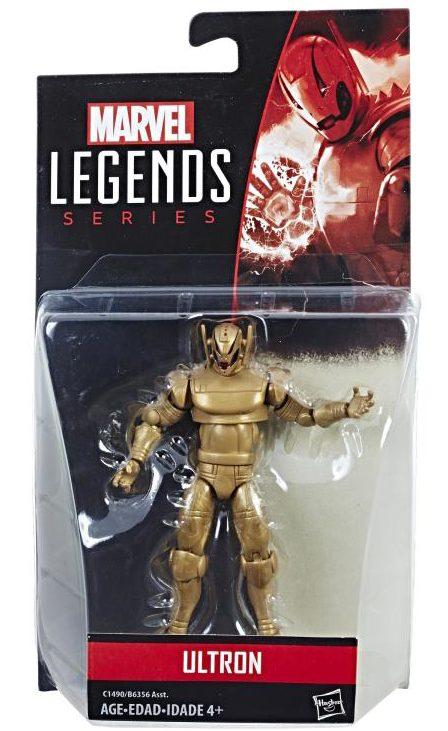 Marvel Legends 2017 Gold Ultron Packaged