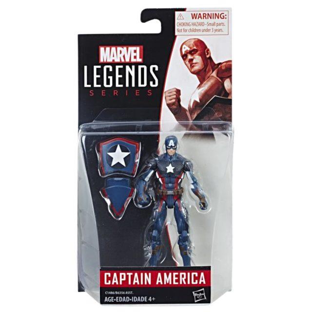 Marvel Legends 2017 Wave 5 Captain America Packaged