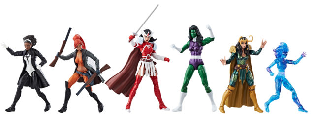 Marvel Legends A-Force Exclusive Box Set Toys R Us EE
