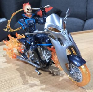Marvel Legends SDCC 2017 Ghost Rider Figure and Motorcycle