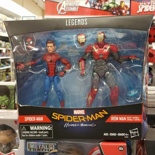 Marvel Legends Spider-Man Homecoming Two-Pack Released