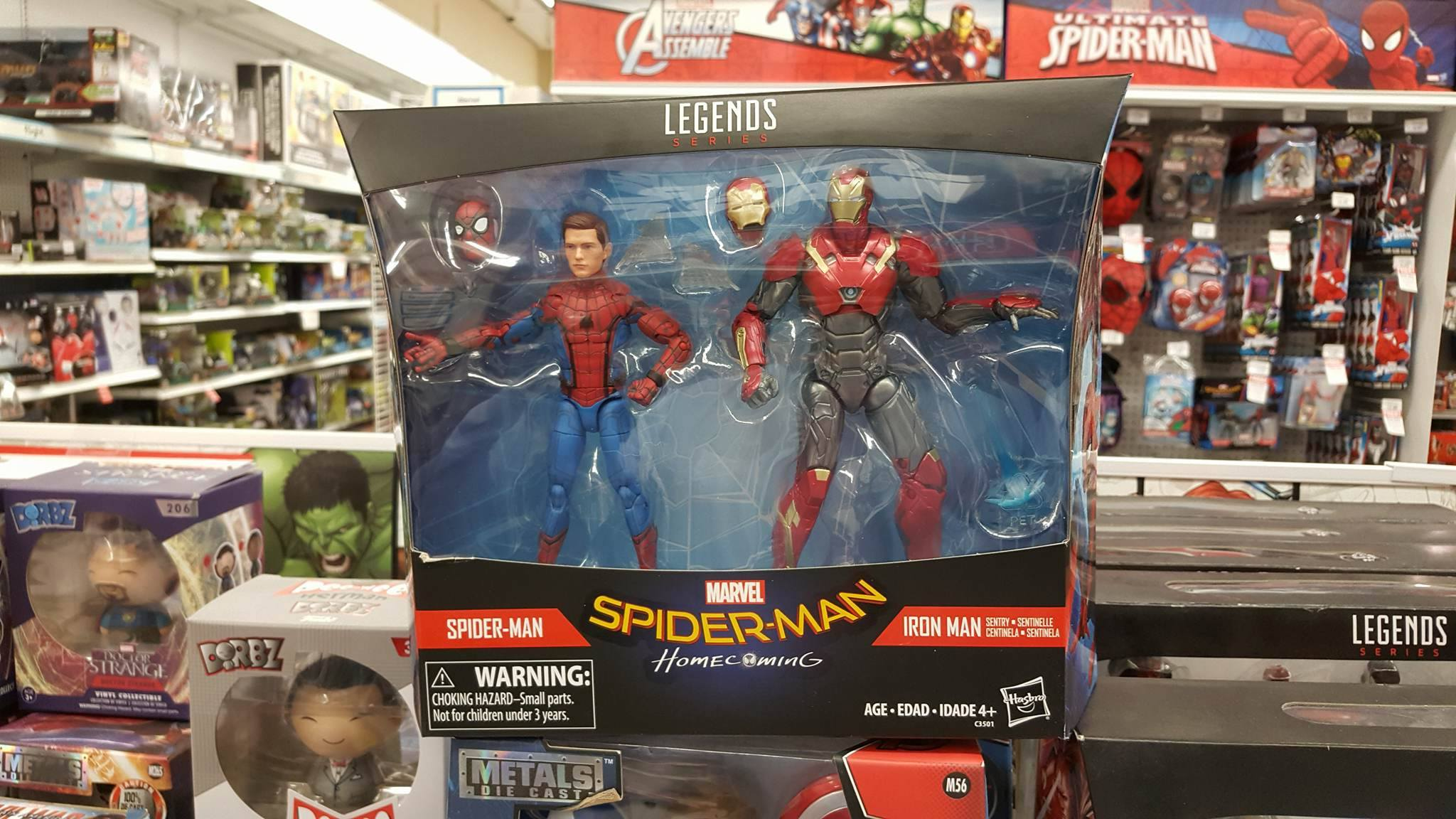 "Marvel Legends MCU Studios 6"" IRON SPIDER from Target Exclusive 2 Pack"