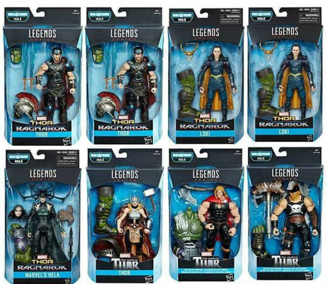 Marvel Legends Thor Ragnarok Series Case Ratios