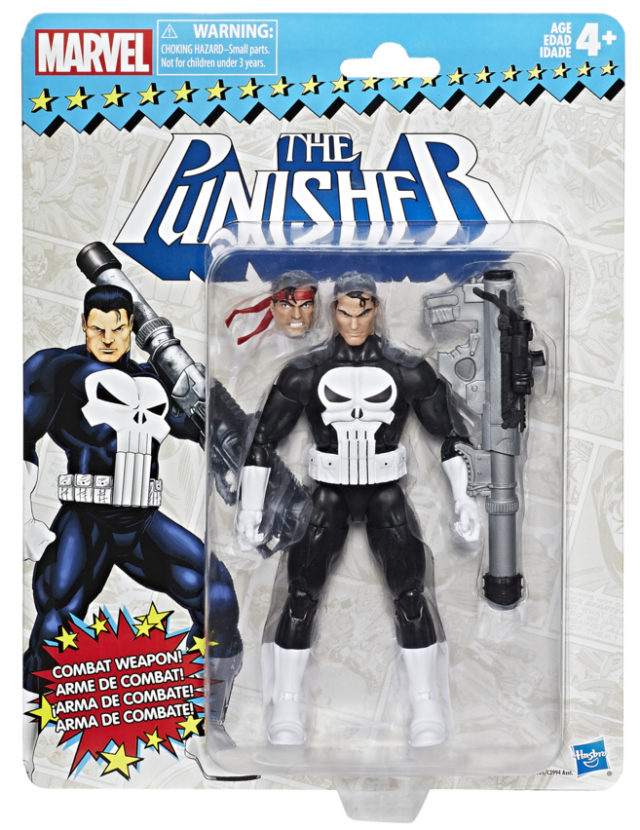 Marvel Legends Vintage Punisher 6 Inch Figure