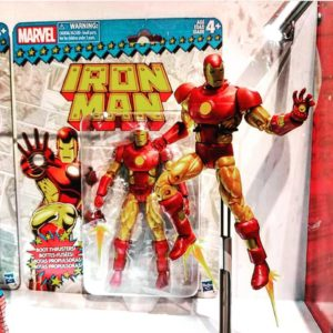 Marvel Legends Vintage Series Iron Man SDCC 2017