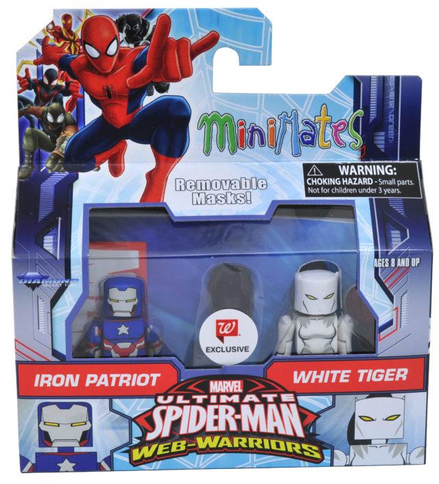 Marvel Minimates White Tiger and Iron Patriot Figures