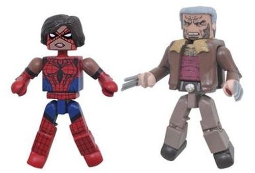 Minimates Old Man Logan Spider-Bitch Figures